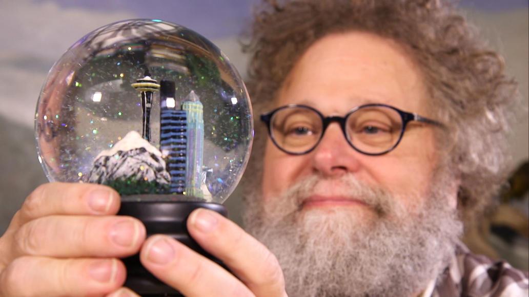Crosscut's Knute Berger gazes into a Seattle snowglobe