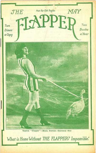 Flapper magazine cover